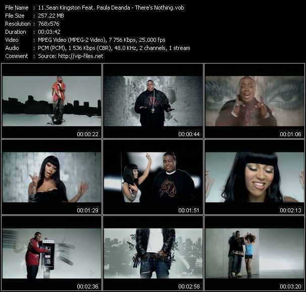 Sean Kingston Feat. Paula Deanda video screenshot