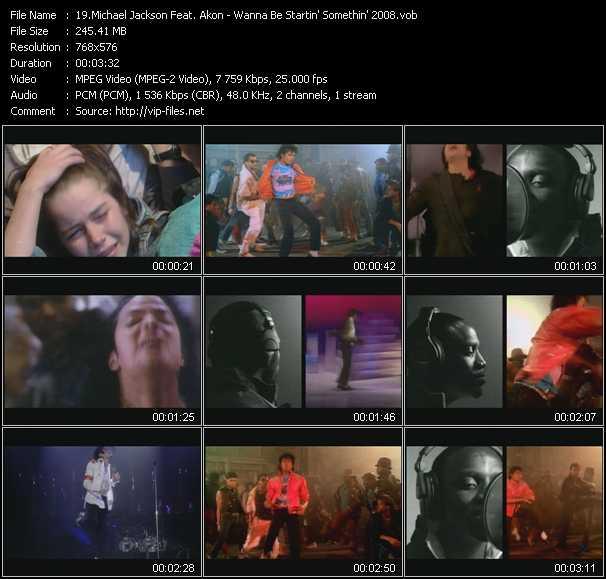 video Wanna Be Startin' Somethin' 2008 screen