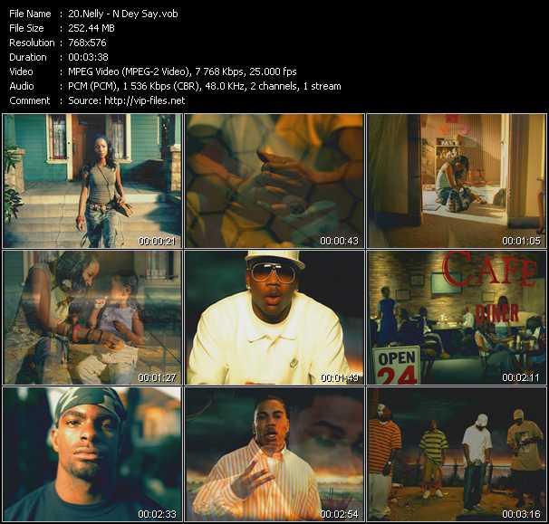 video N Dey Say screen