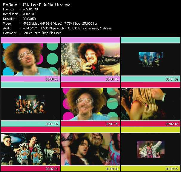 Lmfao video screenshot
