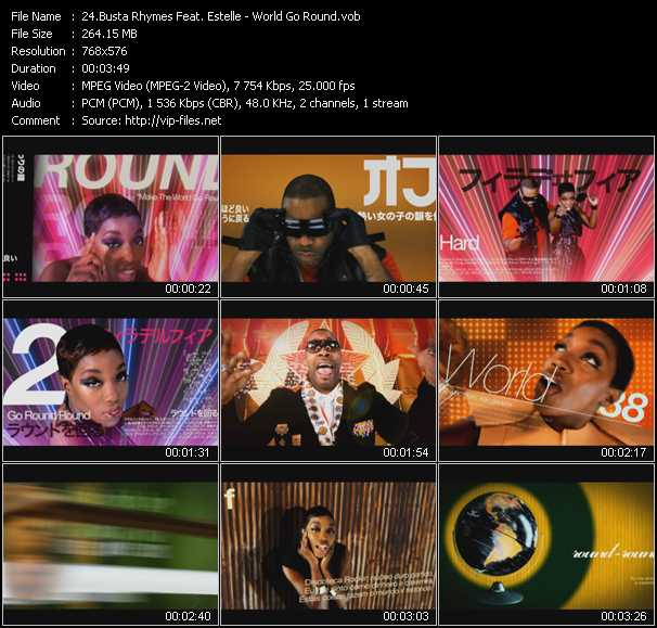 Busta Rhymes Feat. Estelle video screenshot