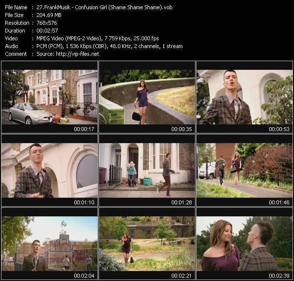 FrankMusik video screenshot