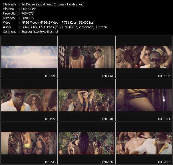 Dizzee Rascal Feat. Chrome video screenshot