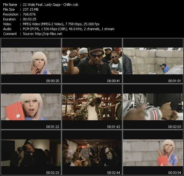 Wale Feat. Lady Gaga video screenshot