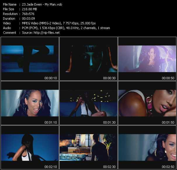 Jade Ewen video screenshot