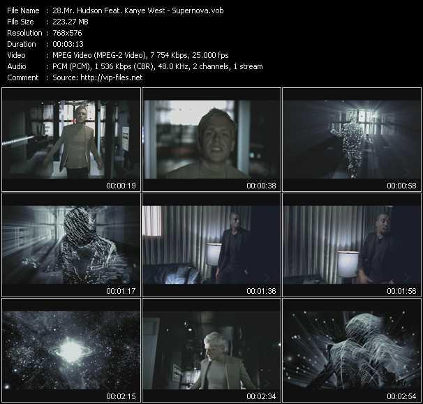 Mr. Hudson Feat. Kanye West video screenshot