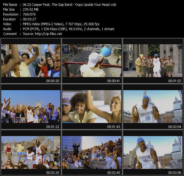 Dj Casper Feat. The Gap Band video screenshot