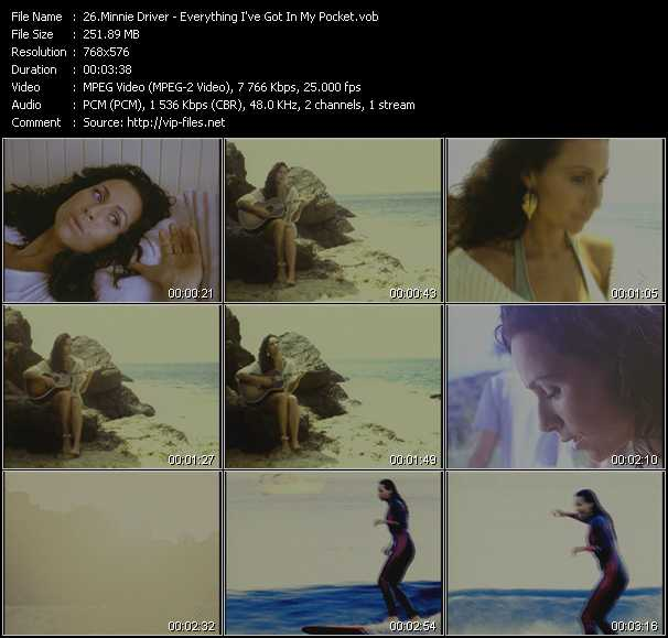 Minnie Driver video screenshot