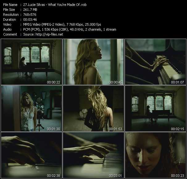 Lucie Silvas video screenshot