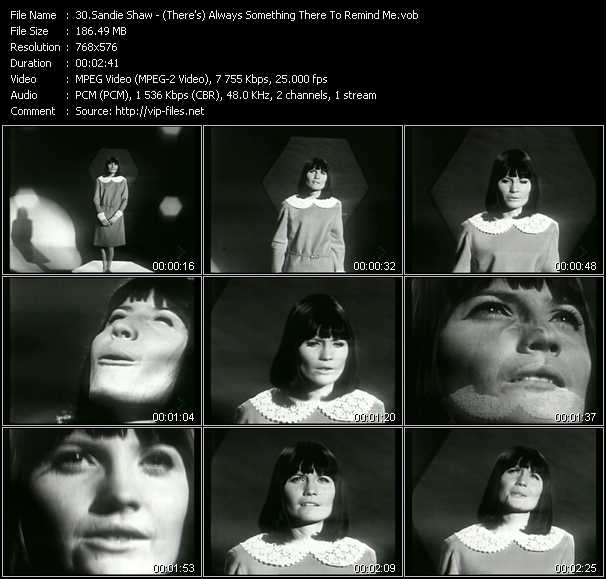 Sandie Shaw video screenshot