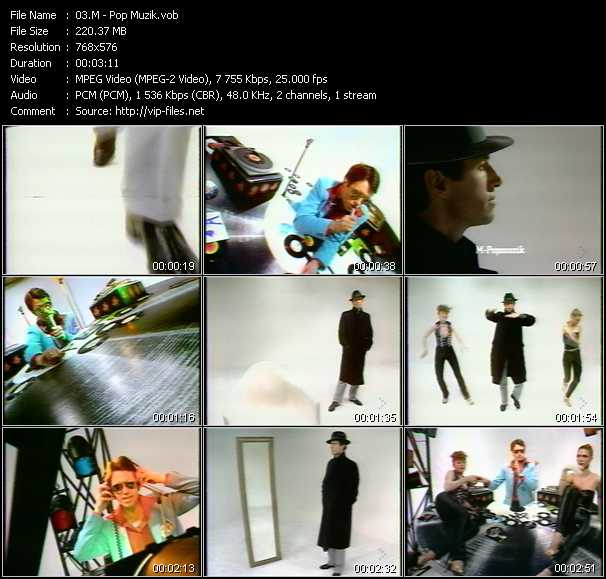 M video screenshot