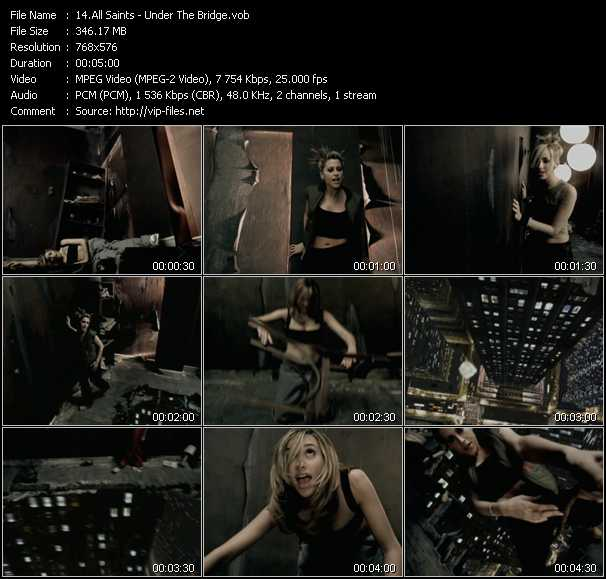All Saints video screenshot