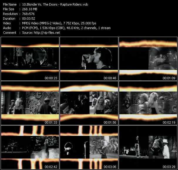 Blondie Vs. The Doors video screenshot