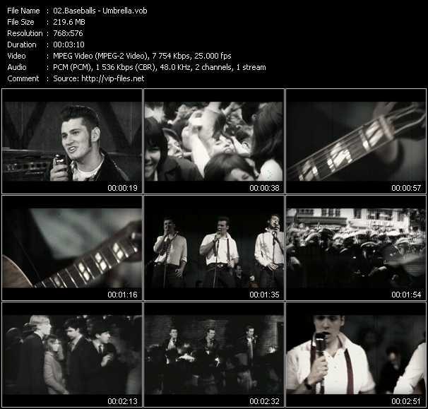 video Umbrella screen