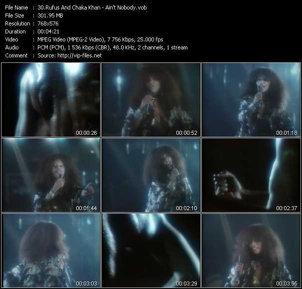 Rufus And Chaka Khan video screenshot