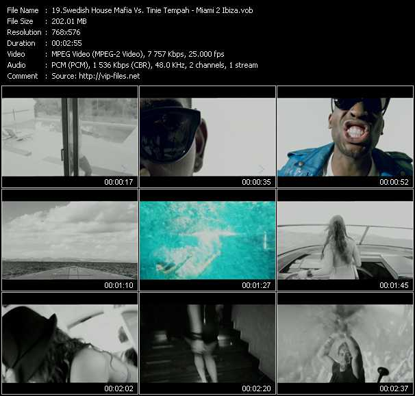 Swedish House Mafia Vs. Tinie Tempah video screenshot