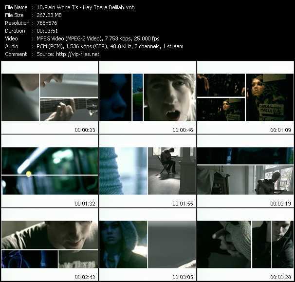 Plain White T's video screenshot