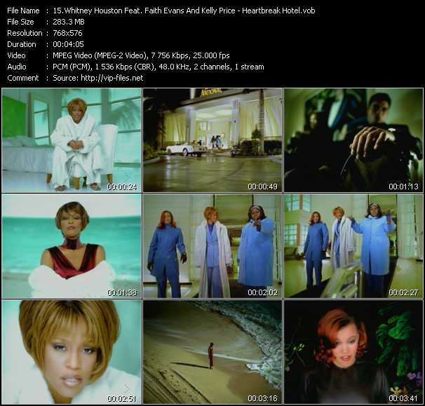 Whitney Houston Feat. Faith Evans And Kelly Price video screenshot