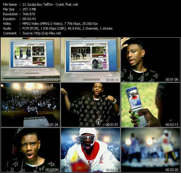 Soulja Boy Tell 'Em video screenshot