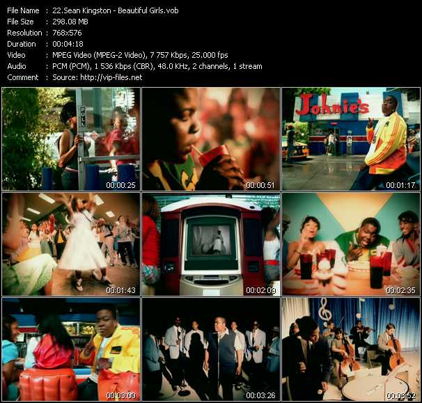 Sean Kingston video screenshot