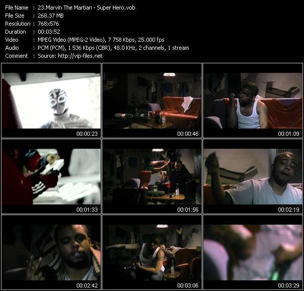 Marvin The Martian video screenshot