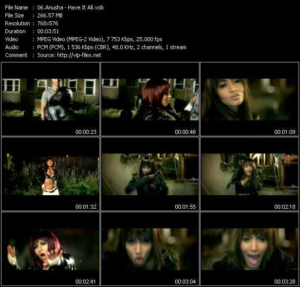 Anusha video screenshot