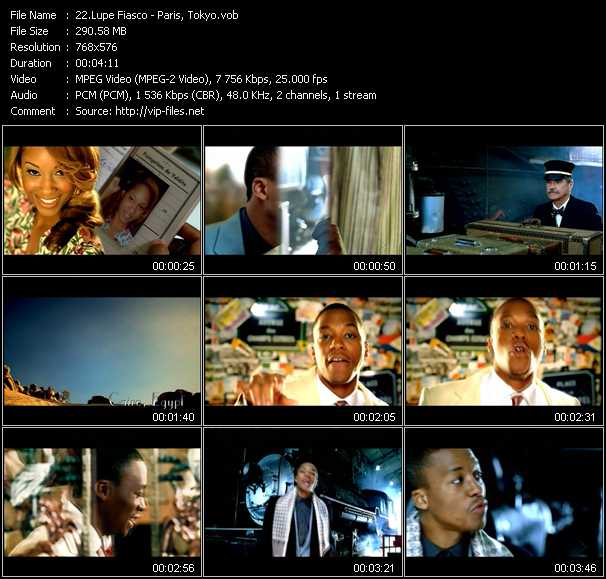Lupe Fiasco video screenshot