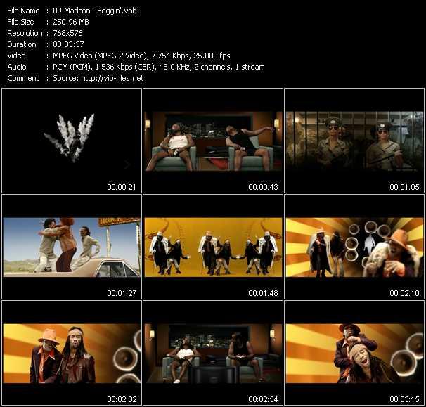 Madcon video screenshot