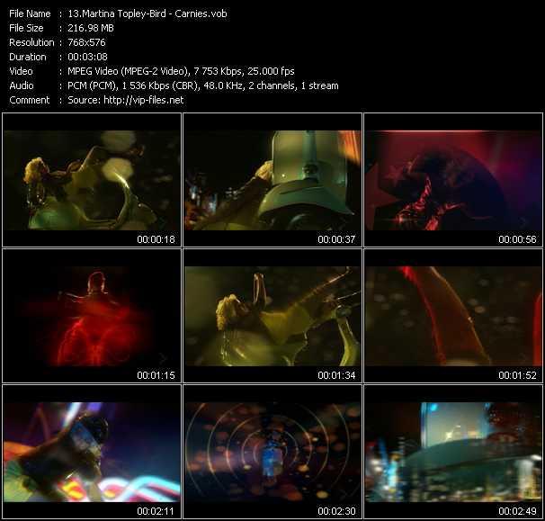Martina Topley-Bird video screenshot