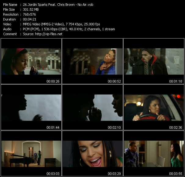 Jordin Sparks Feat. Chris Brown video screenshot