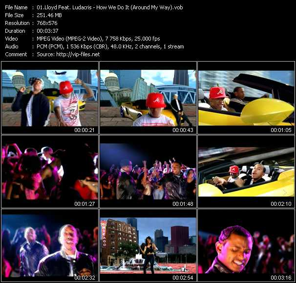 Lloyd Feat. Ludacris video screenshot