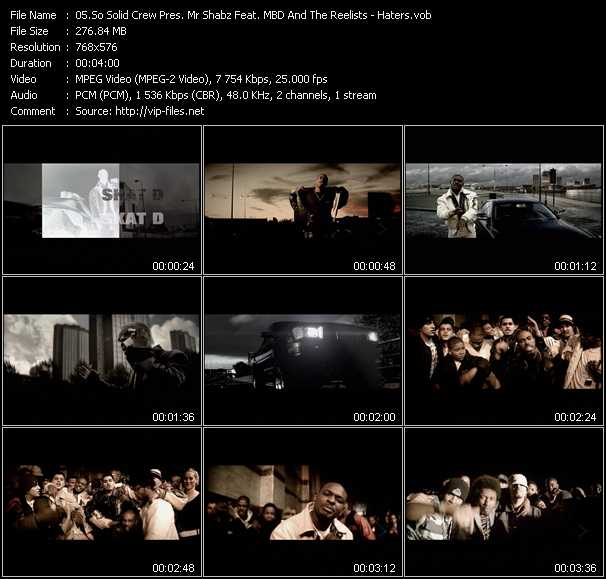 So Solid Crew Pres. Mr Shabz Feat. Mbd And The Reelists video screenshot