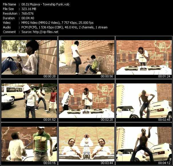 Dj Mujava video screenshot