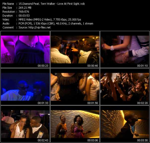 Diamond Feat. Terri Walker video screenshot