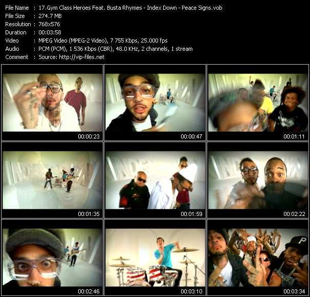 Gym Class Heroes Feat. Busta Rhymes video screenshot