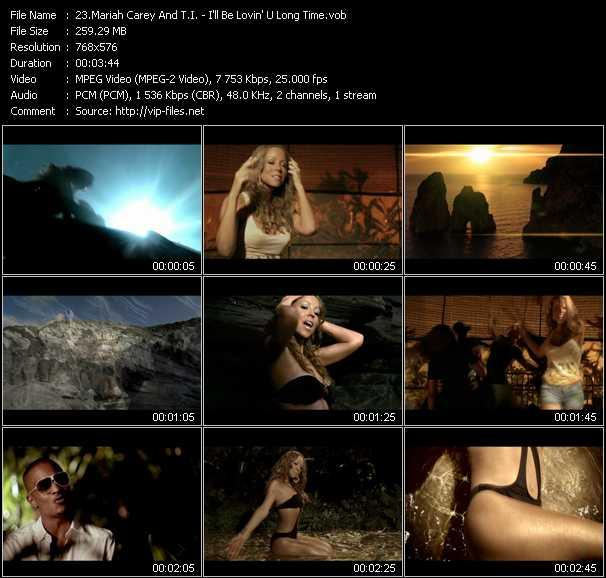 Mariah Carey And T.I. video screenshot