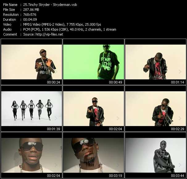 Tinchy Stryder video screenshot