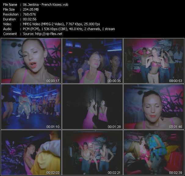 Jentina video screenshot