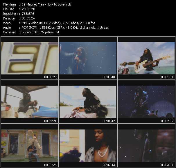 Magnet Man video screenshot