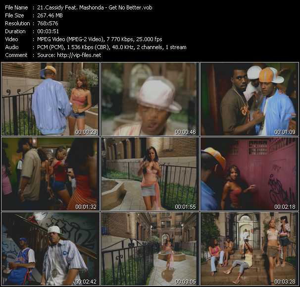 Cassidy Feat. Mashonda video screenshot