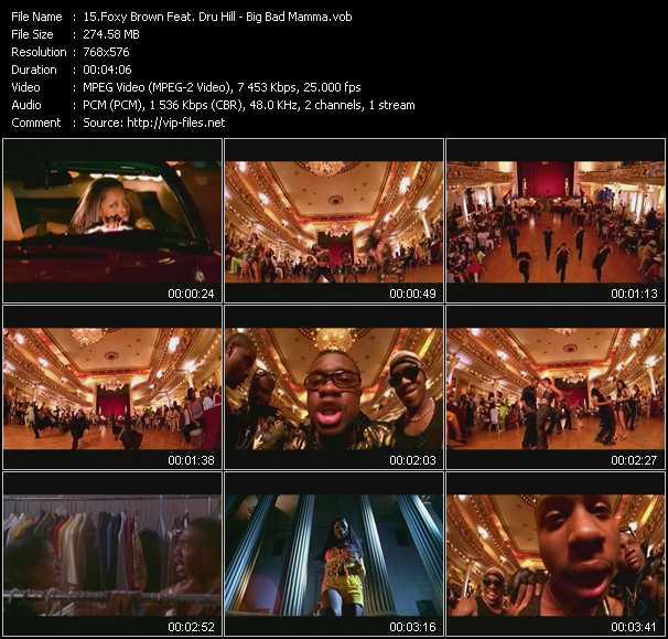Foxy Brown Feat. Dru Hill video screenshot