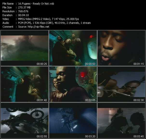 Fugees video screenshot