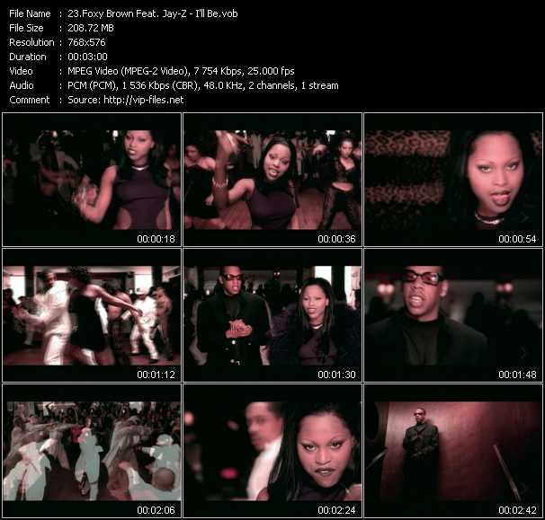 Foxy Brown Feat. Jay-Z video screenshot