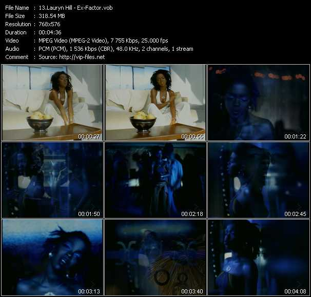 Lauryn Hill video screenshot