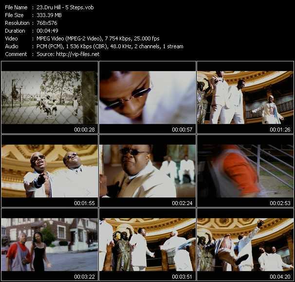 Dru Hill video screenshot