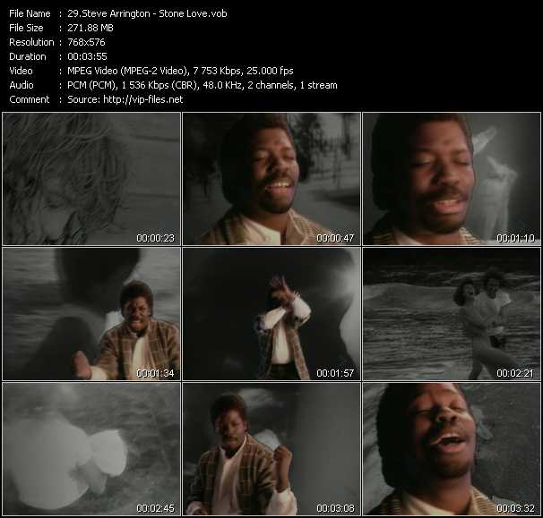 Steve Arrington video screenshot