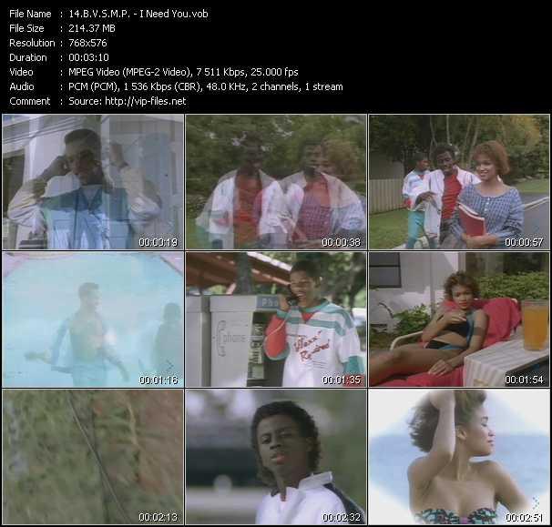 B.V.S.M.P. video screenshot