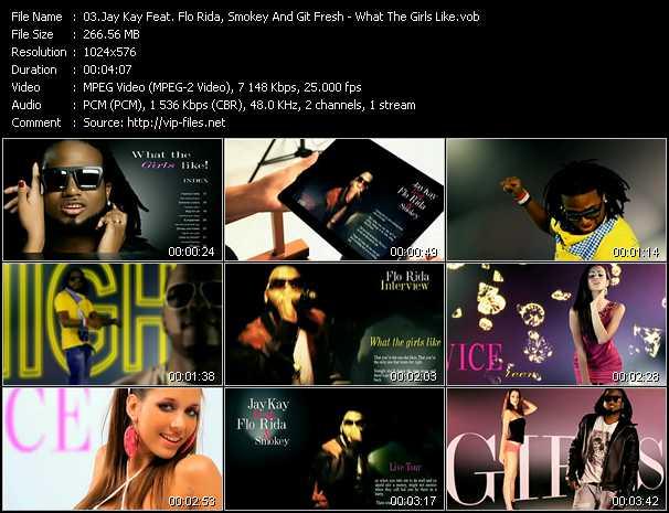 Jay Kay Feat. Flo Rida, Smokey And Git Fresh video screenshot