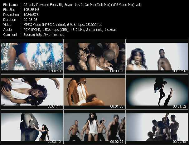 Kelly Rowland Feat. Big Sean video screenshot
