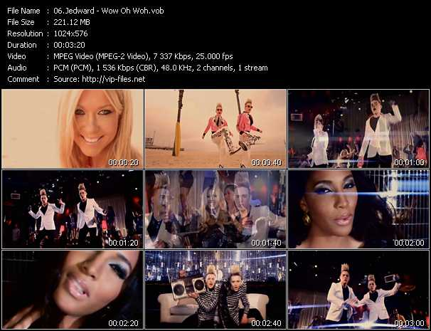 Jedward video screenshot